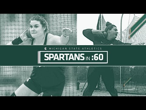 Spartans in :60 - Niki Sargent and Rebecca Mammel