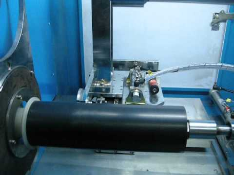 Rubber gasket cutting machine ( www.rubbermachinery-china.com)