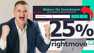 Finding Property Deals FAST On Rightmove | ROI Challenge