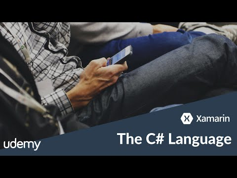 C# as the programming language for Android and iOS apps