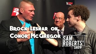 Brock Lesnar on Conor McGregor - What