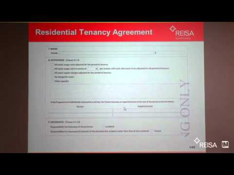 REISA - Tenancy Agreement