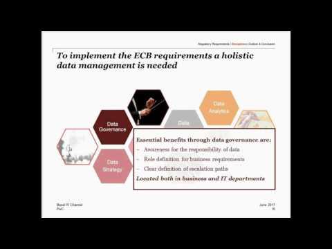 Internat. Basel IV Channel, Regulatory Analytics - Data Management & Data Analytics, 14th July 17