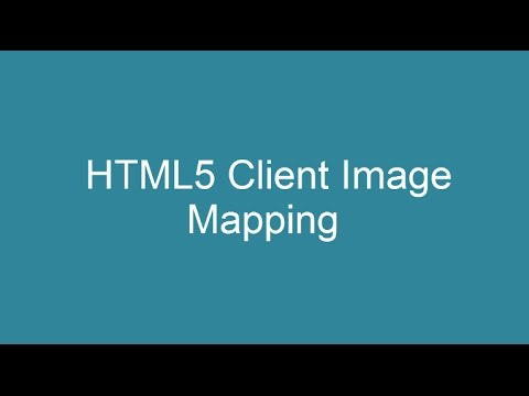 HTML5 Client Side Image Mapping