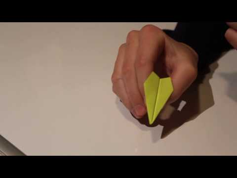 STICKY-NOTE AIRPLANE?! | Tutorial