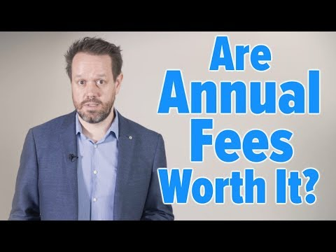 When is it worth paying the credit card annual fee?
