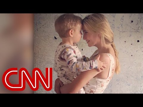 Ivanka Trump criticized for picture with her son