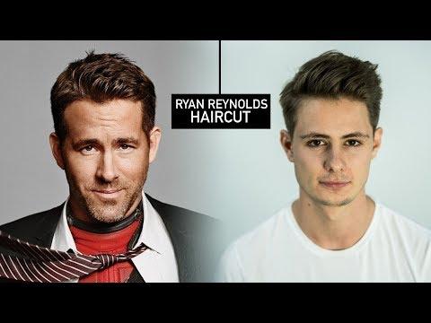 Ryan Reynolds Haircut & Hairstyle | Mens Fall Hair Tutorial | BluMaan 2017