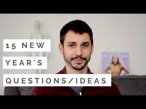 15 New Year's Resolution Questions and Ideas for 2018