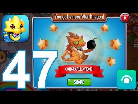 Dragon City - Gameplay Walkthrough Part 47 - Level 31, War Dragon (iOS, Android)