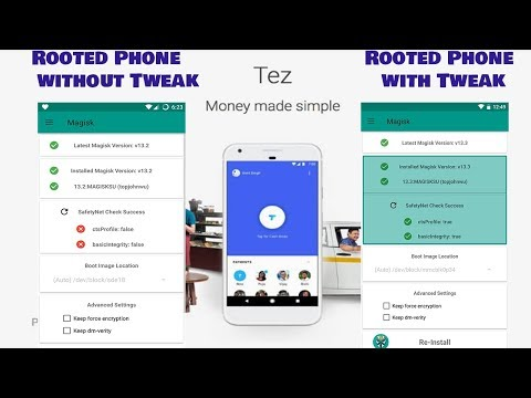 How to fix Safety Net Check  Failed    Tez On Rooted Phones Solution    Tez with Xposed Framework   