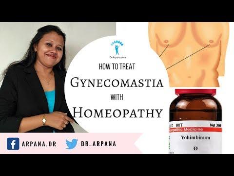 पुरुषों में स्तनों का बढ़ना और होम्योपैथिक दवाई || Homeopathic Medicine for GYNECOMASTIA