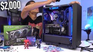 $2000 Gaming PC Build - i7 8700K GTX 1080 Ti (w/ Benchmarks) Coffee Lake