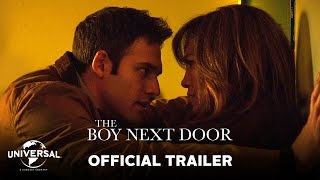 The Boy Next Door - In Theaters January 23 http://www.theboynextdoorfilm.com/  Official Trailer - HD  Jennifer Lopez leads the cast in The Boy Next Door, a psychological thriller that explores a forbidden attraction that goes much too far.  Directed by Rob Cohen (The Fast and the Furious) and written by Barbara Curry, the film also stars Ryan Guzman, John Corbett and Kristin Chenoweth.    The Boy Next Door is produced by Jason Blum of Blumhouse Productions, Lopez and Elaine Goldsmith-Thomas of Nuyorican Productions, Benny Medina of The Medina Company and John Jacobs of Smart Entertainment.  www.theboynextdoorfilm.com