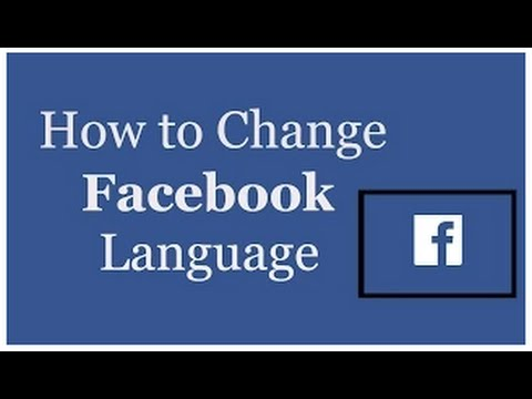 How To Change Language In facebook 2015 In Telugu