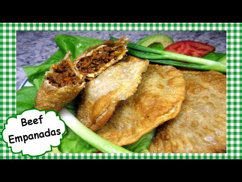 Beef Empanadas Recipe ~ How To Make Homemade Beef Empanada