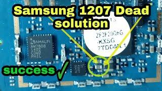 Samsung e1207 Dead Solution