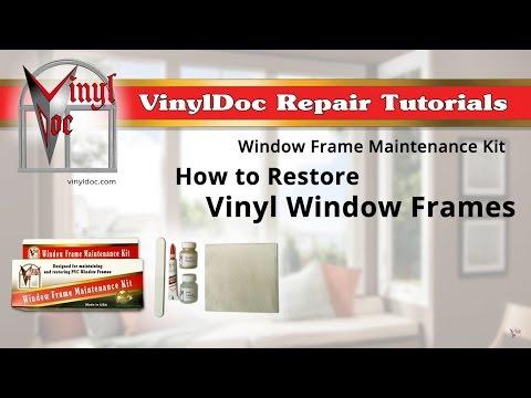 How to Restore Vinyl Window Frames