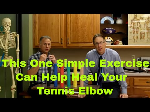 This One Simple Exercise Can Help Heal Your Tennis Elbow (Elbow Pain) (Lateral Epicondylitis)