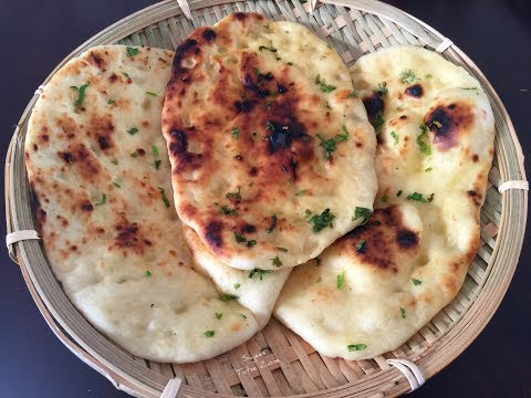 Butter Naan Without Tandoor| .ബട്ടർ നാൻ
