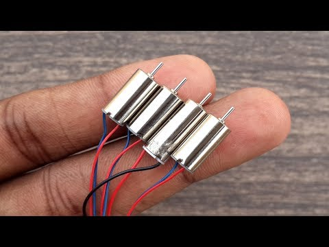 3 Awesome Things from Mini Coreless DC Motors
