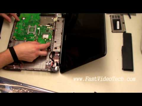 Toshiba Satellite Power Problem FIX (DC Jack) Replacement