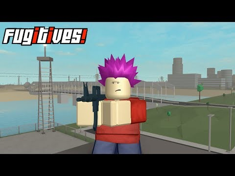 GTA in Roblox!?! | Roblox Fugitives with JCR