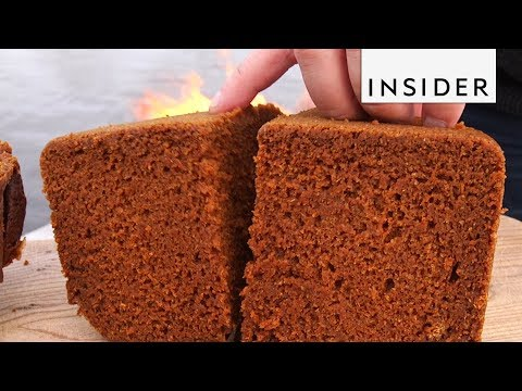 Icelandic Bread Baked By Lava