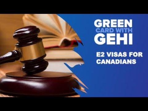 E-2 Visa for Canadians