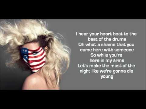 Ke$ha - Die Young (LYRICS)