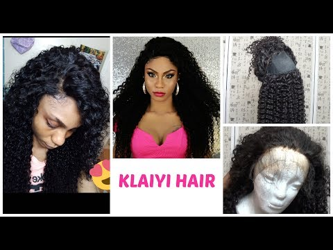 Let's Slay a Curly Wig from start to finish! Ft KLAIYI HAIR.COM