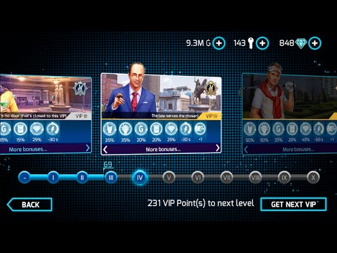 HOW TO GET VIP POINTS? | Gangstar Vegas