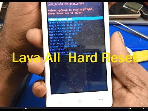 lava iris 30 hard reset - PakVim net HD Vdieos Portal
