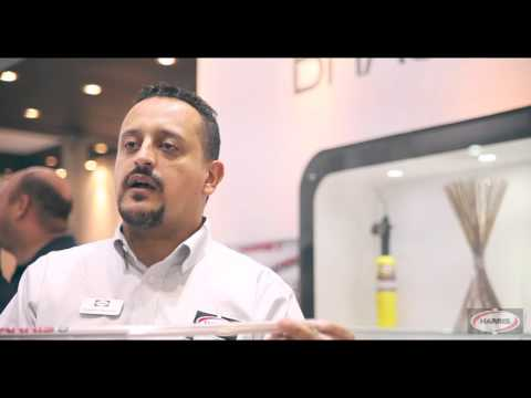 Harris Products Group at Febrava 2015 (Portuguese)
