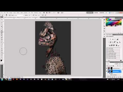 Robot effect using Photoshop