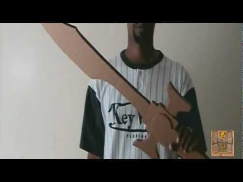 Cosplay Transforming Cardboard Sword