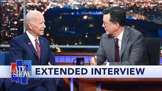 Full Extended Interview: Joe Biden Talks To Stephen Colbert