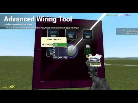 GMod Tutorial: How to make a Colorer