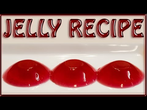 Instant rose Jelly Recipe video in just 3 Steps