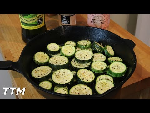 Easy Baked Zucchini~Healthy Recipe