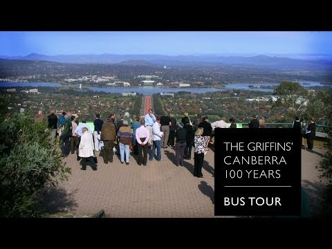 The Griffins' Canberra: 100 Years - bus tour