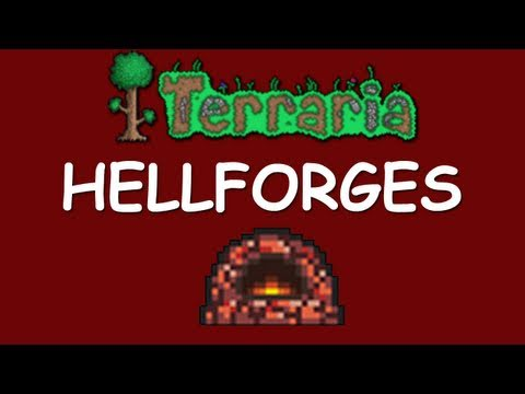 Terraria - How to get a Hellforge