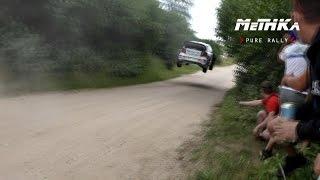 Ogier & Mikkelsen   HIGH SPEED JUMPS    WRC Rally Poland 2016