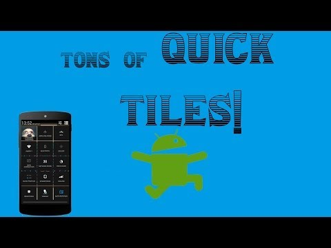 Android Tutorial - Tons of quick settings!