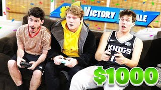 Whoever Gets The Most KILLS Gets $1000 - Fortnite