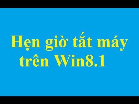 Hẹn giờ tắt máy trên Windows 8.1 - http://taimienphi.vn