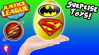 JUSTICE LEAGUE Gets Orbeez Splash! See Our Surprise Toy Collection with HobbyKidsTV