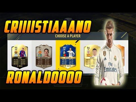 CRISTIANO RONALDO!!!-FIFA17 Greek Fut Draft