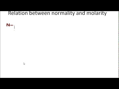 how to calculate normality and molarity class xi CBSE topic concentration of solution