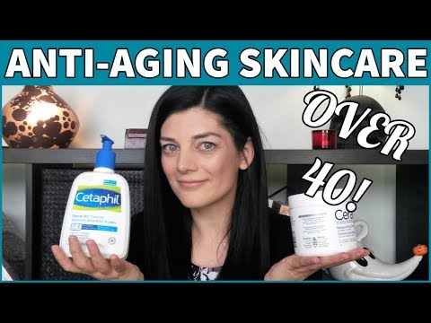 OVER 40 ANTI AGING SKINCARE ROUTINE 2017 | For Dry Skin